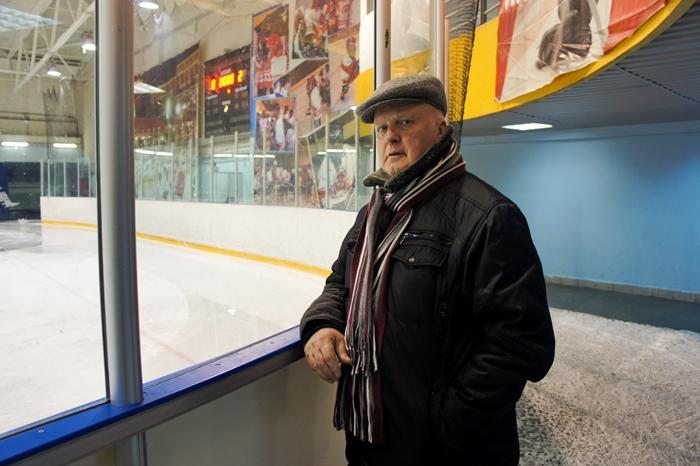 Лев Анисимов, администратор хоккейного клуба