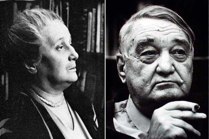 Поэтесса Анна Ахматова и ее сын Лев Гумилев | Фото: lenta.ru и gumilevica.kulichki.net