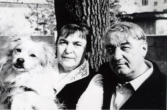 Лев Гумилев с женой Натальей, 1970-е гг. | Фото: gumilevica.kulichki.net