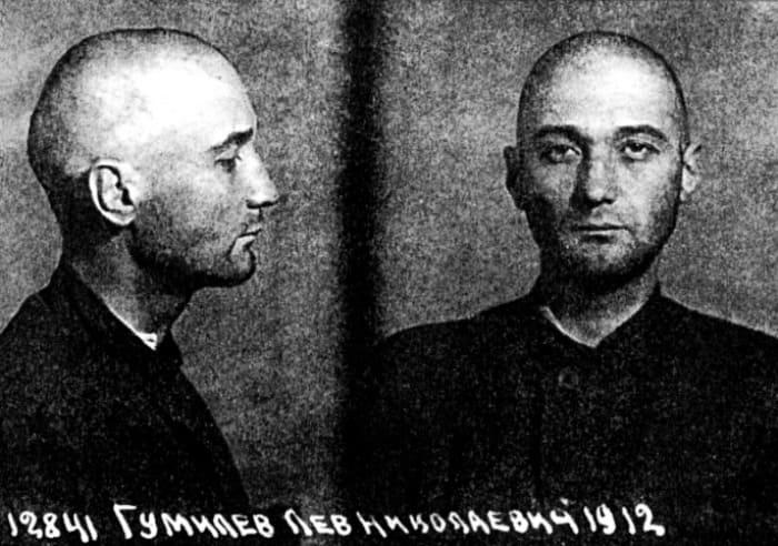 Фотография Льва Гумилева из следственного дела, 1949 | Фото: gumilevica.kulichki.net