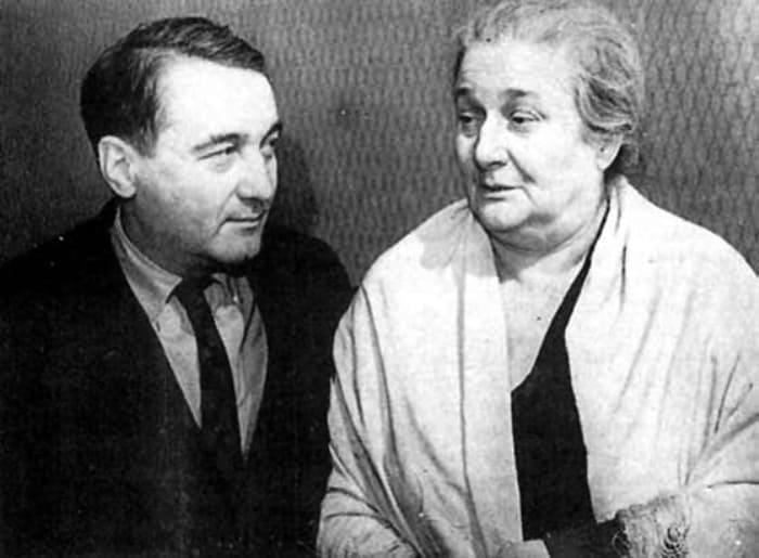 Лев Гумилев и Анна Ахматова, 1960-е гг. | Фото: trv-science.ru
