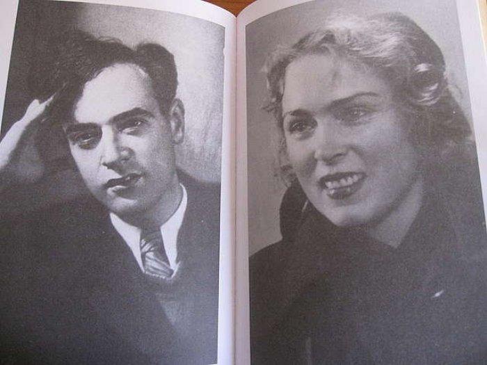 Лев и Кора Ландау. Фото из книги *Академик Ландау. Как мы жили* | Фото: baza.msk.ru