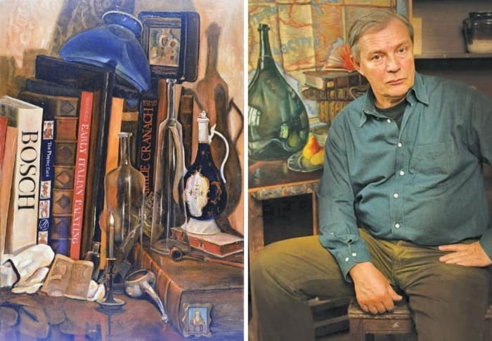 Актер и художник Лев Прыгунов и его работы | Фото: kino-teatr.ru, syl.ru