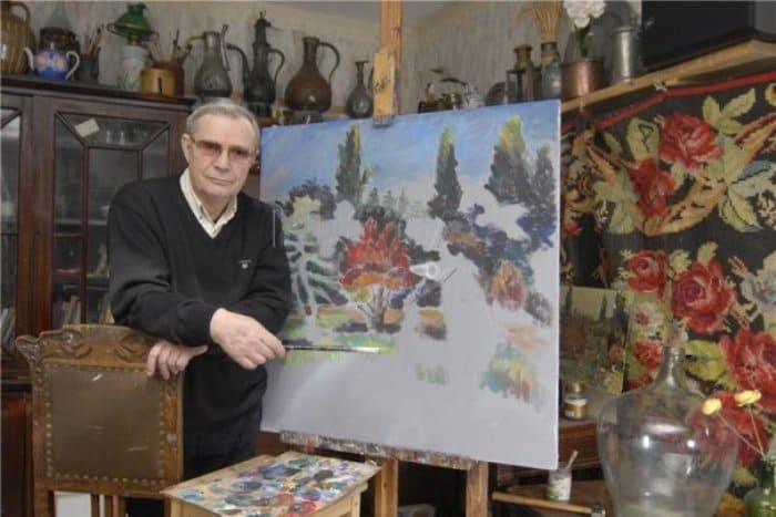 Актер и художник Лев Прыгунов и его работы | Фото: kino-teatr.ru