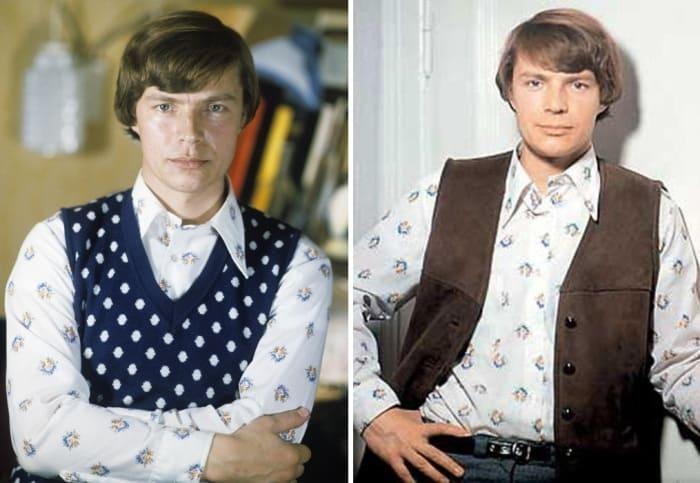 Актер в середине 1970-х гг. | Фото: kino-teatr.ru, aif.ru