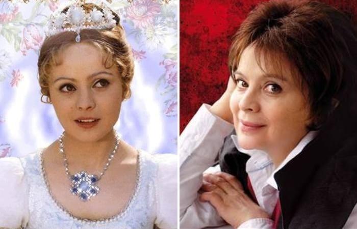 Актриса, которой всенародную популярность принесла роль Золушки | Фото: kino-teatr.ru и tabloid40.ru