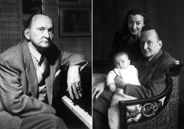 Александр Вертинский с женой и дочерью Анастасией, 1945   Фото: liveinternet.ru