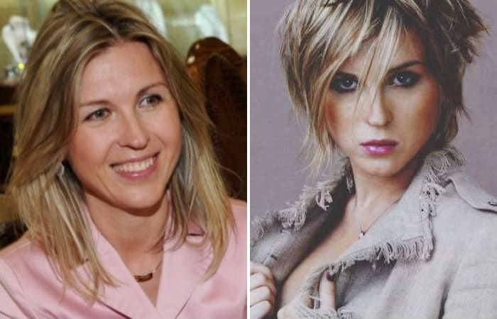 Популярная в 1990-х гг. певица Лика Стар | Фото: kleo.ru и 101.ru