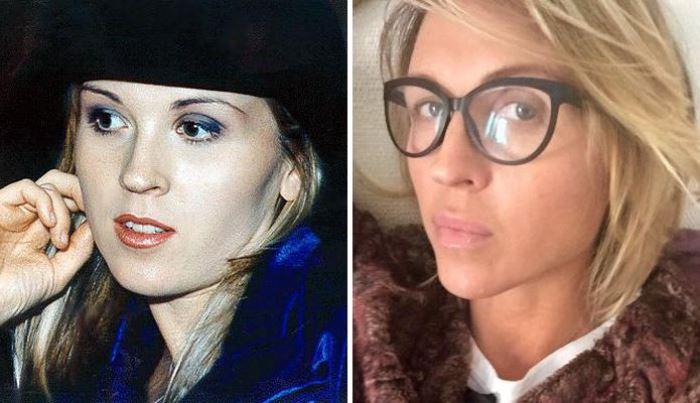 Лика Стар в начале 1990-х гг. и в 2015 г. | Фото: anews.com