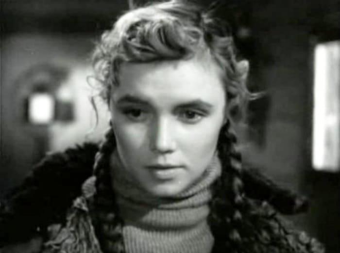 Лилиана Алешникова в фильме *Они были первыми*, 1956 | Фото: kino-teatr.ru
