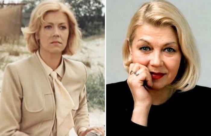 Знаменитая латвийская актриса Лилита Озолиня | Фото: kino-teatr.ru