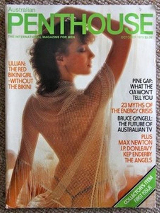 Лиля Гасинская на обложке эротического журнала | Фото: dailytelegraph.com.au