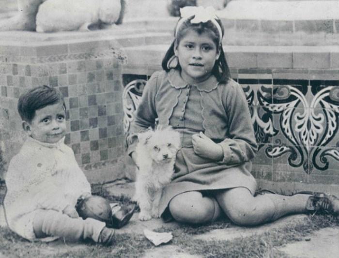 Лина с сыном