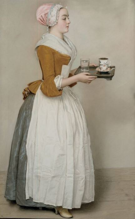 Жан-Этьен Лиотар. Шоколадница, 1745   Фото: artchive.ru