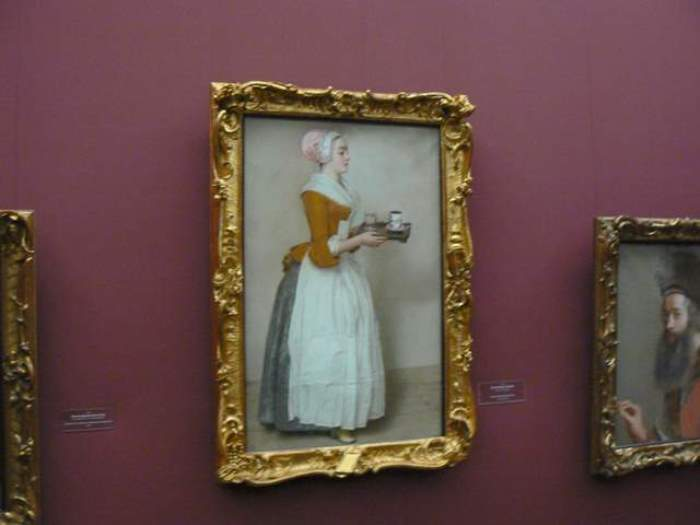 *Шоколадница* Лиотара в Дрезденской галерее   Фото: livemaster.ru