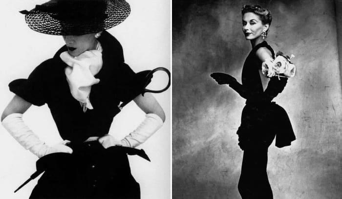 Самая успешная и востребованная модель в мире моды 1940-1950-х гг. | Фото: istorik.net