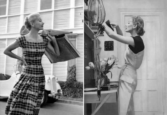 Первая звезда журнала *Vogue* в 1940-х гг. | Фото: iledebeaute.ru
