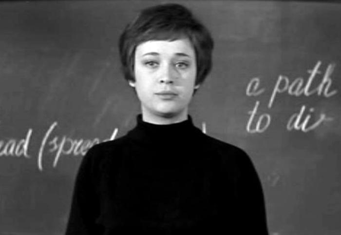 Ирина Печерникова в фильме *Доживем до понедельника*, 1968 | Фото: kino-teatr.ru