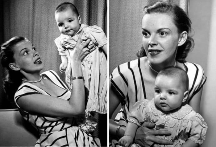 Джуди Гарленд с дочерью | Фото: kino-teatr.ru, vokrug.tv