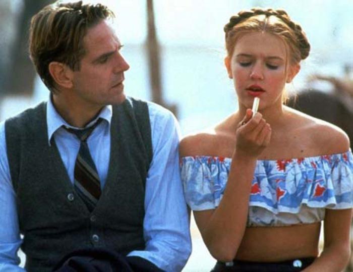 Доминик Суэйн в роли Лолиты и Джереми Айронс в роли Гумберта, 1997 | Фото: film.ru