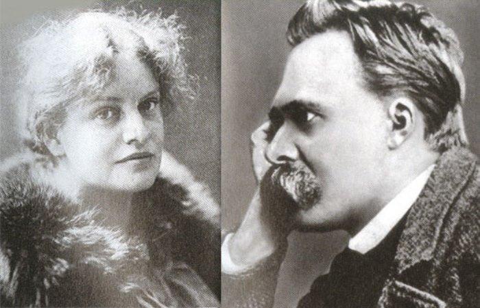 Лу Саломе и Фридрих Ницше
