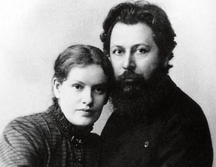 Луиза Андреас Саломе с мужем