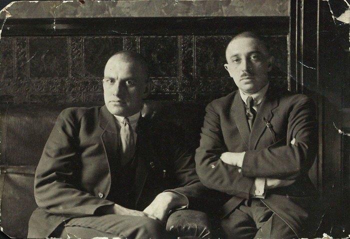 В. Маяковский и О. Брик | Фото: mtdata.ru