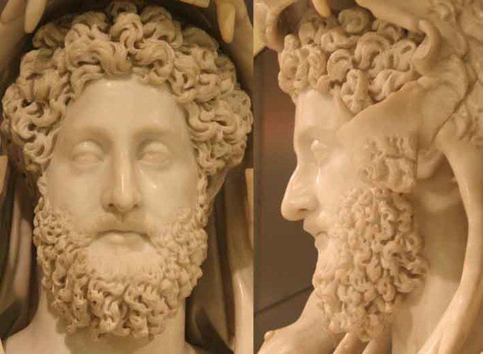 Голова статуи императора Коммода в образе Грекулеса. Дворец Консерваторов. Музеи Капитолия, Рим | Фото: varvar.ru
