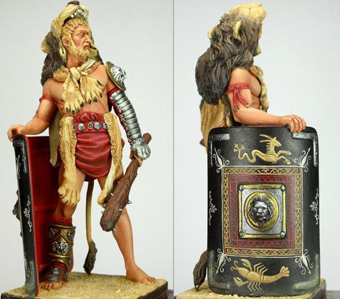 Римский император Коммод. Фигурка производства Pegaso Models | Фото: diorama.ru