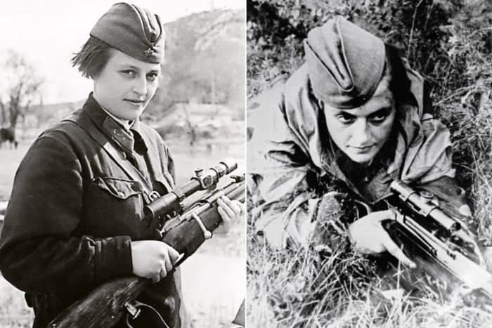 Женщина-снайпер Людмила Павличенко | Фото: top-antropos.com