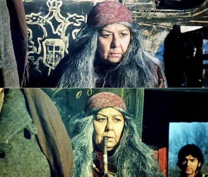 Ляля Черная в фильме *Табор уходит в небо*, 1976 | Фото: stuki-druki.com