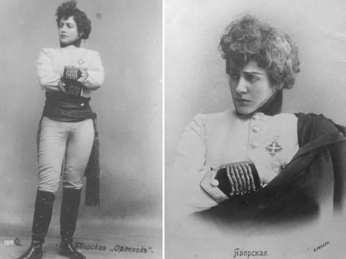 Театральная актриса Лидия Яворская | Фото: amnesia.pavelbers.com