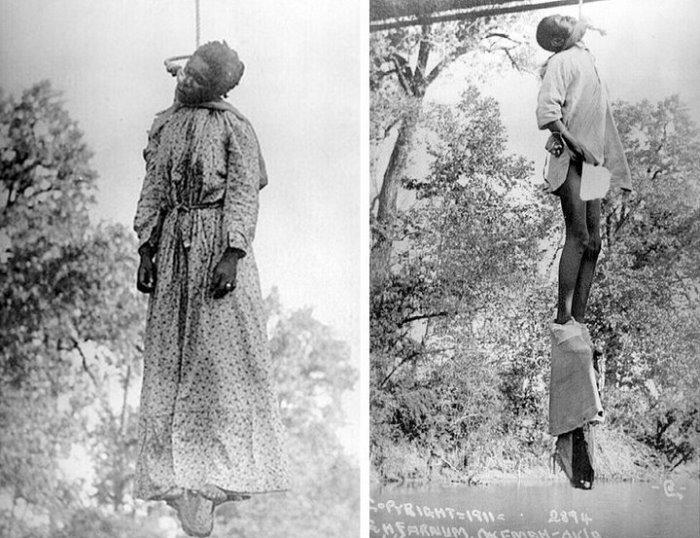 Лаура Нельсон и ее 15-летний сын подверглись линчеванию за то, что отец семейства украл корову и застрелил шерифа. Оклахома, США, 1911   Фото: glavpost.com