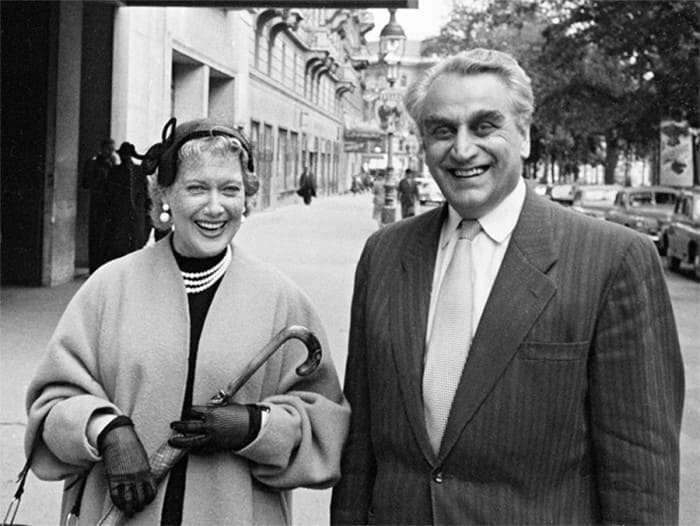 Любовь Орлова и Григорий Александров в Вене, 1962 | Фото: dubikvit.livejournal.com