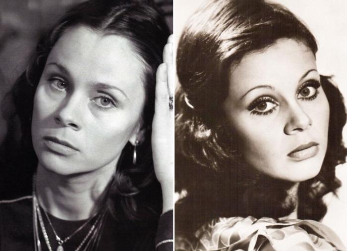 Актриса с *несоветским лицом* | Фото: uznayvse.ru и kino-teatr.ru