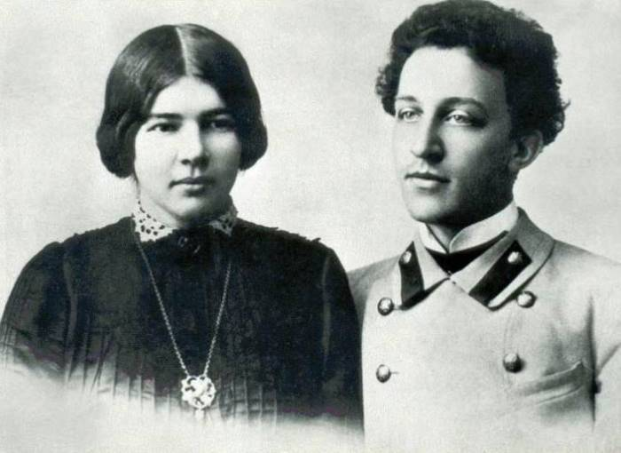Александр Блок и его жена, Любовь Менделеева | Фото: liveinternet.ru