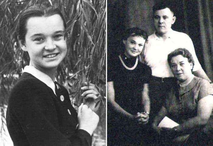 Людмила Гурченко с родителями | Фото: kino-teatr.ru