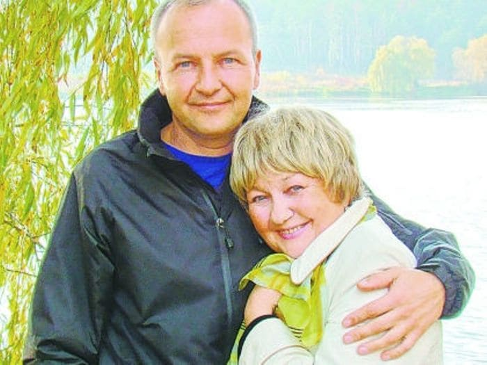 Актриса с сыном   Фото: sobesednik.ru