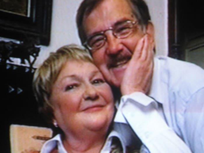 Актриса с мужем   Фото: kino-teatr.ru