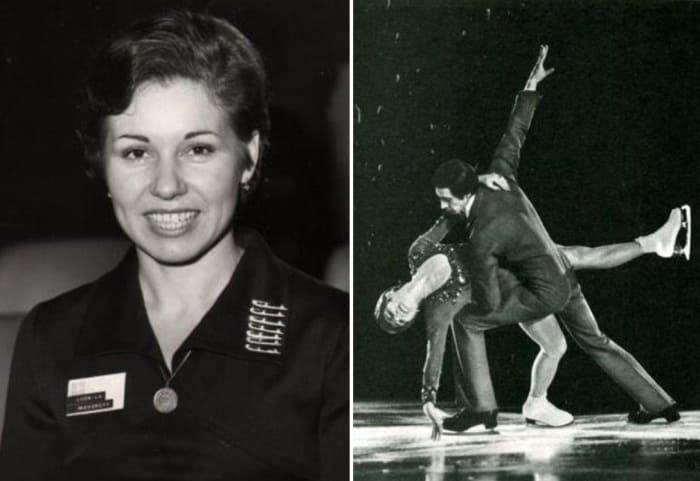 Советская фигуристка, олимпийская чемпионка, тренер Людмила Пахомова   Фото: fb.ru, sports.ru