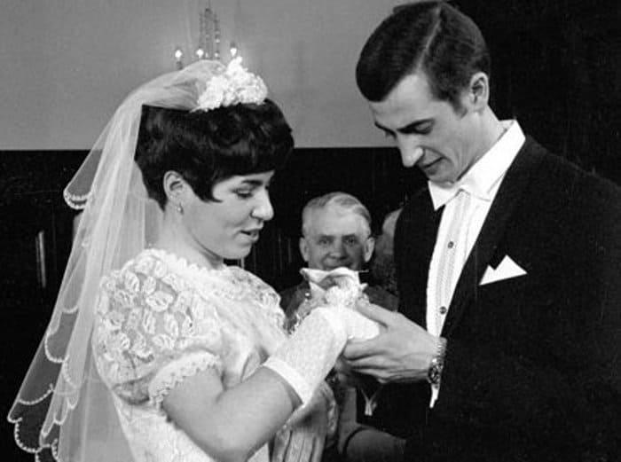 Свадьба Людмилы Пахомовой и Александра Горшкова, 1970   Фото: sports.ru