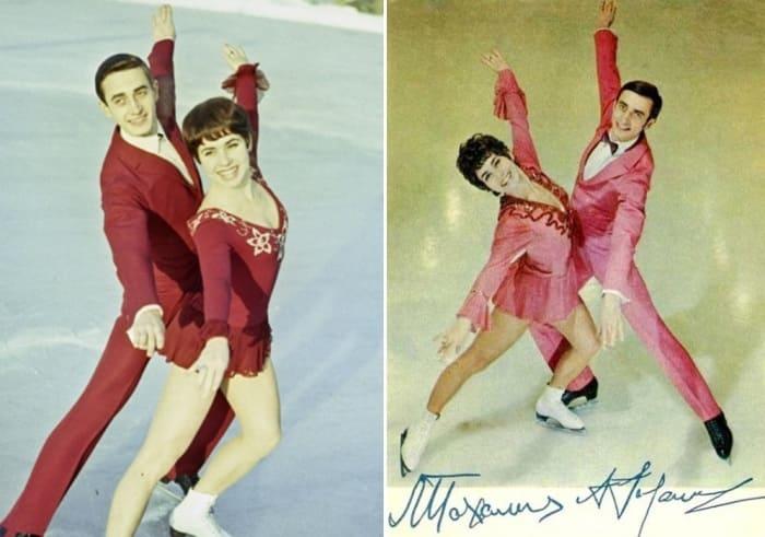 Один из самых успешных танцевальных дуэтов в истории советского и мирового фигурного катания   Фото: aif.ru, kino-teatr.ru