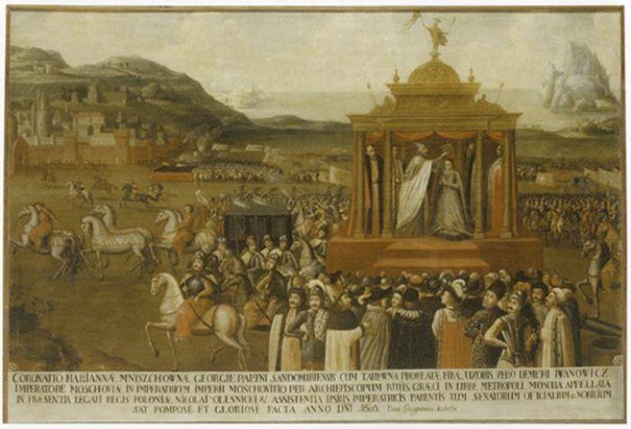 Въезд Марины Мнишек со свитой в Москву 3 мая 1606 г. XVII в. | Фото: liveinternet.ru
