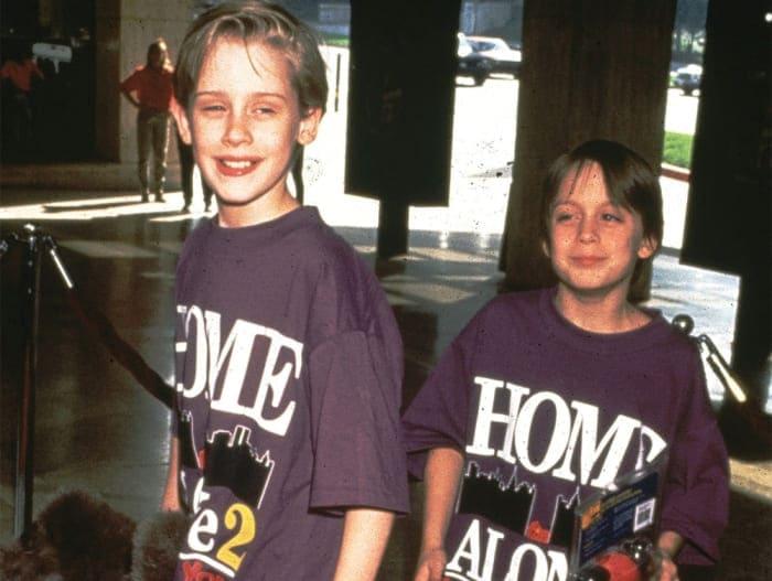 Маколей Калкин и его брат Киран, 1992 | Фото: aif.ru