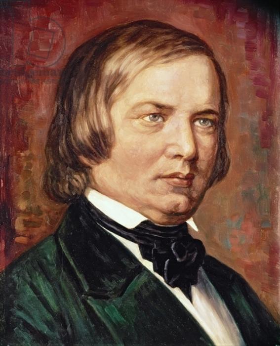 Gustav Zerner. Роберт Шуман
