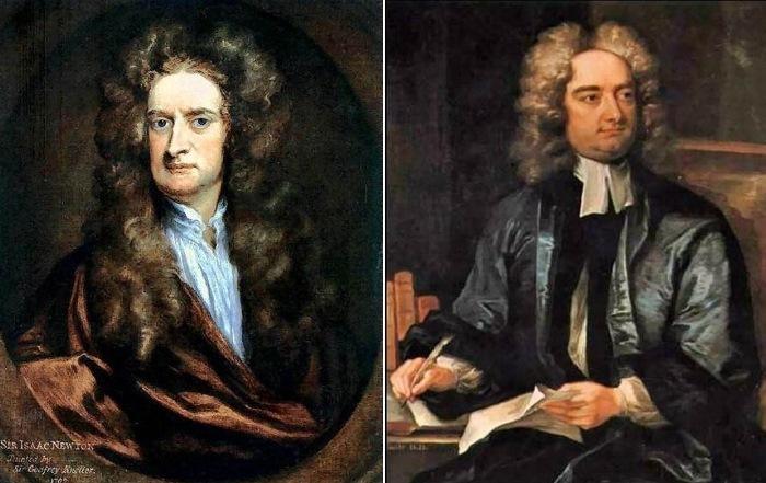Гениальные безумцы Исаак Ньютон и Джонатан Свифт