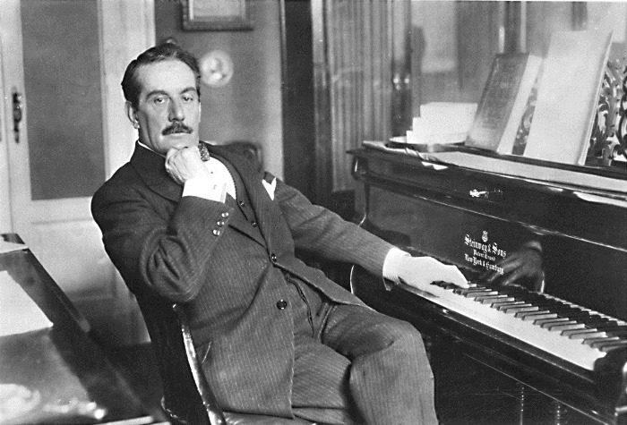 Джакомо Пуччини, автор оперы *Мадам Баттерфляй*