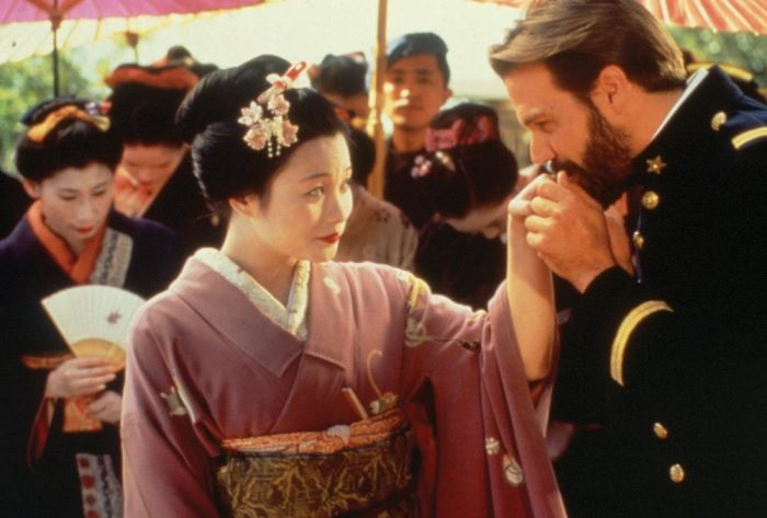 Кадр из фильма-оперы *Мадам Баттерфляй*, 1995