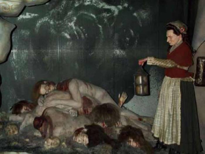 Экспонаты из комнаты ужасов музея мадам Тюссо | Фото: tonpix.ru