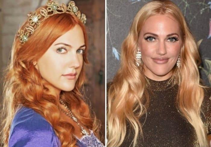 Актриса Мерьем Узерли | Фото: wday.ru и cosmo.ru